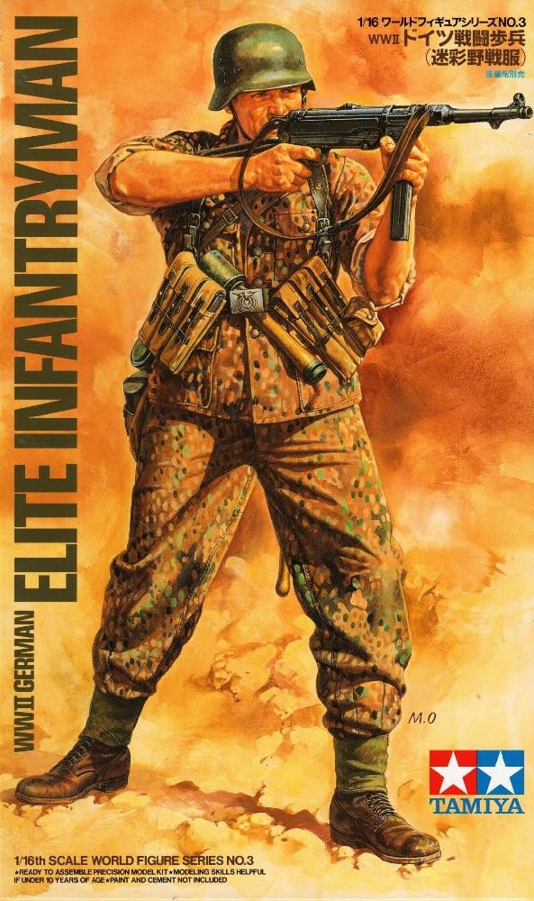 1:48 WWII German Elite Infantryman