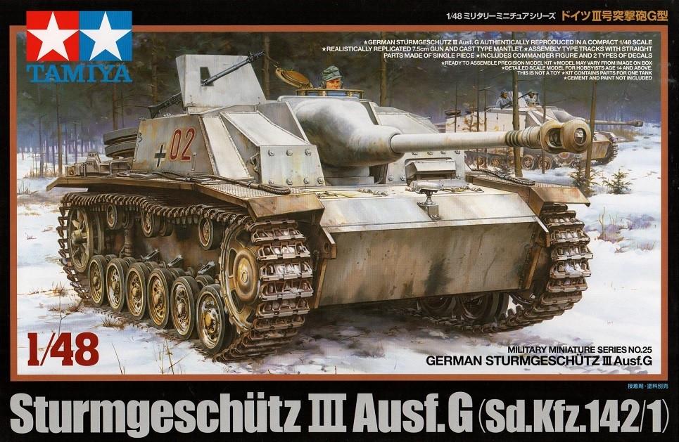 Náhľad produktu - 1:48 Sturmgeschütz III Ausf.G