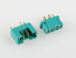 View Product - Green MPX connector (1 pair)