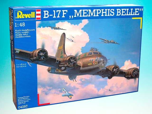 View Product - 1:48 B-17F Memphis Belle