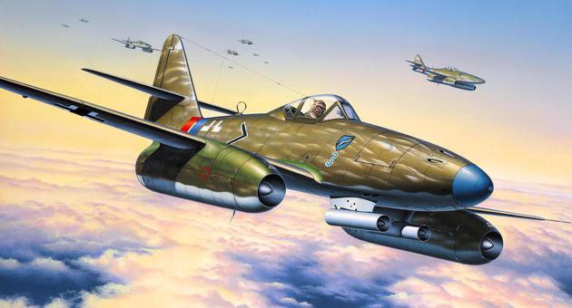 View Product - 1:72 Me 262 A-1a
