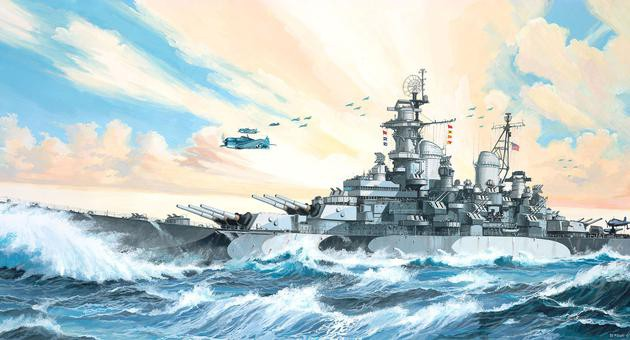 View Product - 1:535 Battleship USS MISSOURI