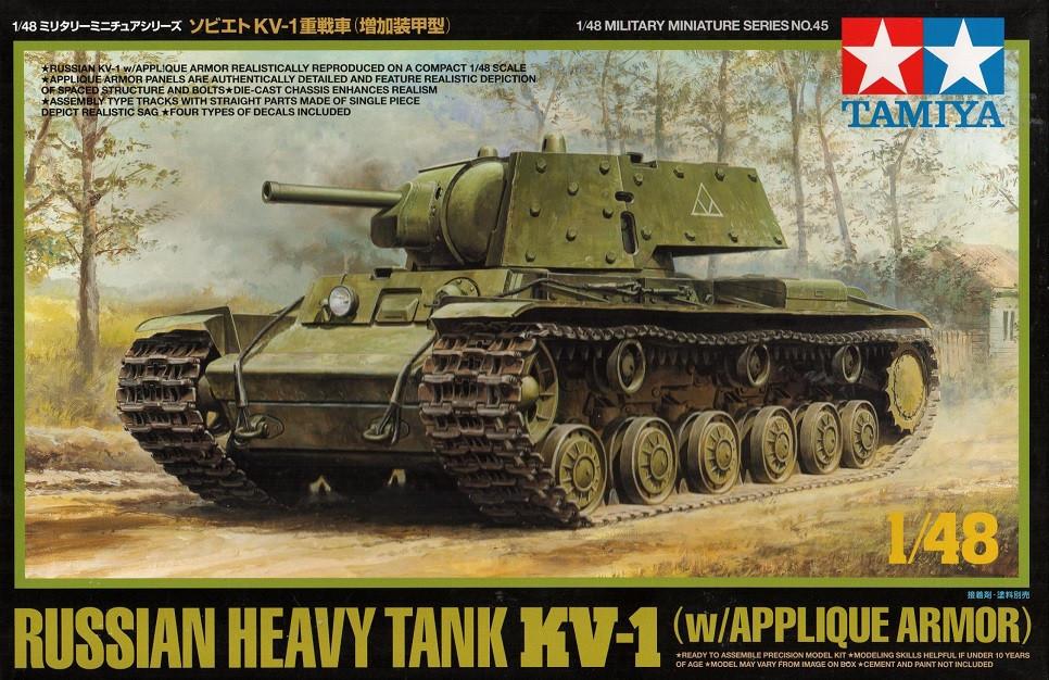 1:48 KV-1 Soviet Heavy Tank w/ Applique Armor