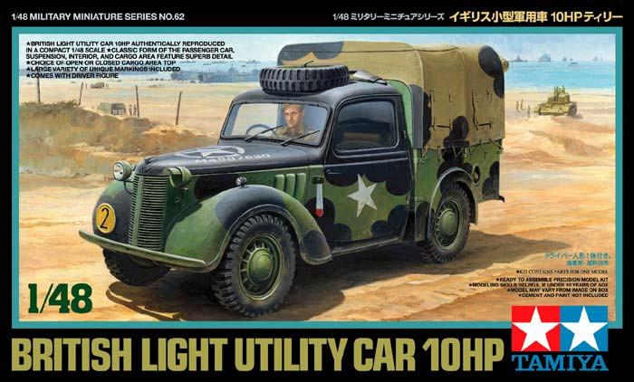 Náhľad produktu - 1:48 British Light Utility Car 10HP