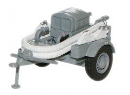 1:76 Grey NFS Coventry Climax Pump Trailer Fire
