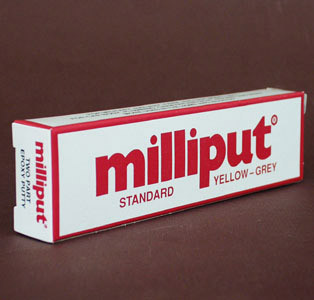 View Product - Milliput yellow - gray STANDARD