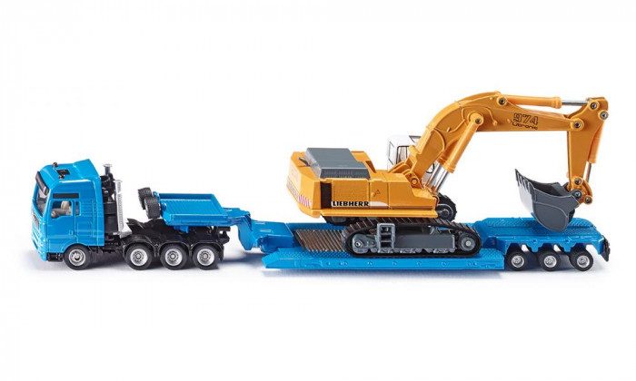View Product - 1:87 Heavy transporter MAN with excavator Liebherr