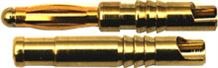 View Product - 2 mm long gold-plated connector type, price per pair