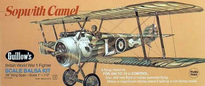 View Product - Sopwith Camel 711 mm