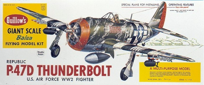 View Product - P-47D Thunderbolt 768 mm