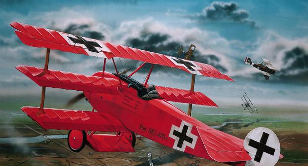 View Product - 1:28 Fokker Dr.I.