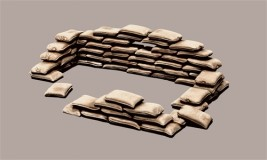 1:35 wargames Accessories Bags of sand