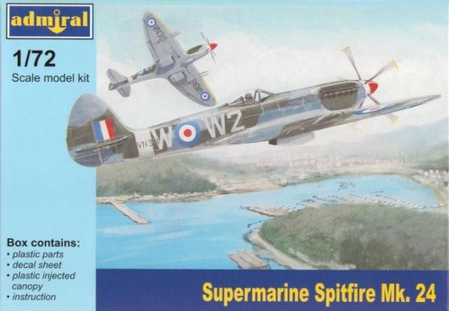 View Product - 1:72 Supermarine Spitfire Mk.24