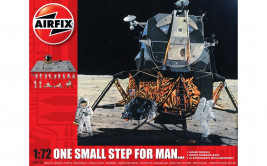 1:72 One Small Step for Man 50th Anniversary of 1st Manned Moon Landing