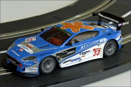 1:43 Dslot43 Aston Martin (No.33 Jet alliance 2007)