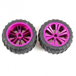 View Product - REVELL - REVELLUTIONS (47033) - 2 Wheel Set for Monster, lilac