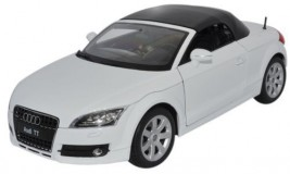 View Product - 1:18 Audi TT Roadster White