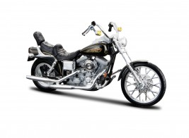 View Product - 1:18 Harley-Davidson FXDWG Dyna Wide Glide 1997