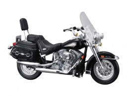 View Product - 1:18 Harley-Davidson FLSTC Heritage Softail Classic 2000