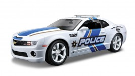 1:18 Chevrolet Camaro SS RS 2010 Police