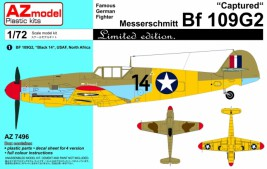 View Product - 1:72 BF 109GA-2 ″CAPTURED″