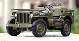 Náhled produktu - 1:18 Jeep Willys (U.S. Army)