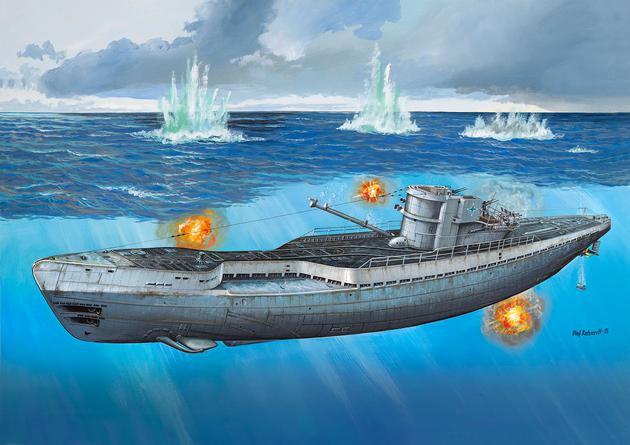 1 72 german submarine type ix c 40 u 190