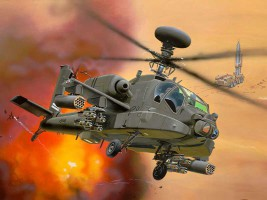 1:144 AH-64D Longbow Apache (Model Set)