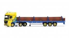 1:50 Mercedes-Benz Actros (MP4), Flatbed Trailer, Middlebrook Transport Ltd