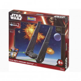 1:93 Kylo Ren's Command Shuttle (Easy Kit)
