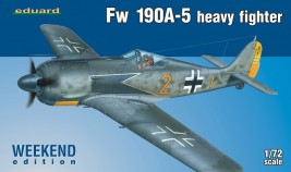 View Product - 1:72 Fw 190 A-5 Heavy Fighter (WEEKEND edition)