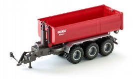 1:32 Siku Control - 3-axled hook-lift trailer