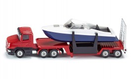 View Product - Low Loader with Boat