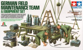 Produkt anzeigen - 1:35 German Field Maintenance Team & Equipment Set