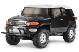 1:10 Toyota FJ Cruiser Black Special 4WD CC-01 (Assembly Kit)
