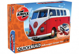 QUICK BUILD VW Camper Van (červený)