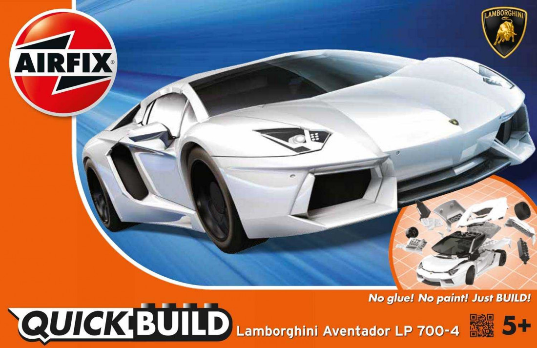 View Product - QUICK BUILD Lamborghini Aventador LP 700-4 (White)