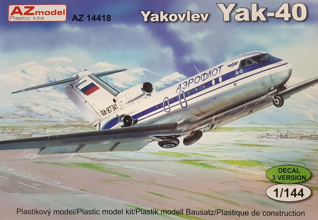 View Product - 1:144 Jak-40, Civil