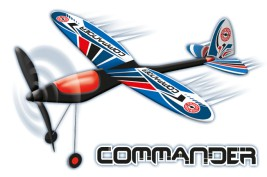 Produkt anzeigen - Commander – Free Flight Model with Rubber Motor