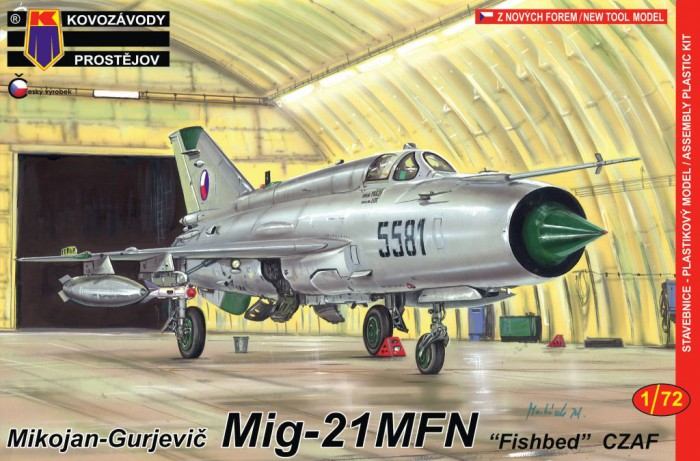 View Product - 1:72 MiG-21MFN Fishbed ″Czech Air Force″