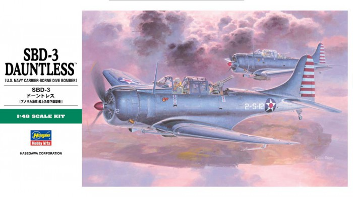 View Product - 1:48 Douglas SBD-3 Dauntless