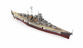 1:700 German Battleship Bismarck