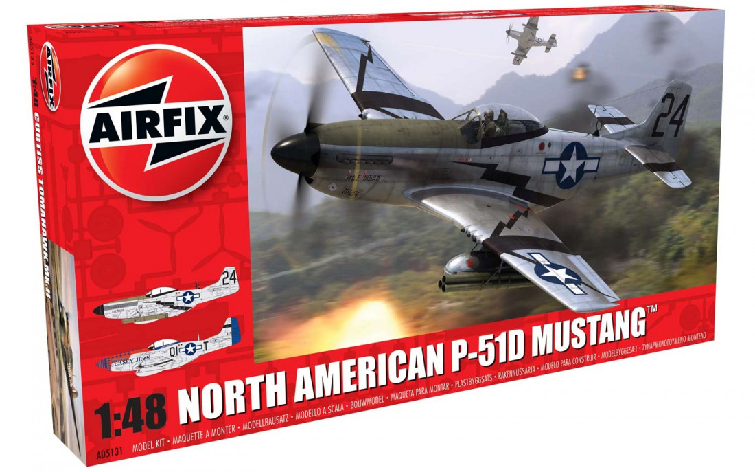 1:48 North American P-51D Mustang (New Tool)