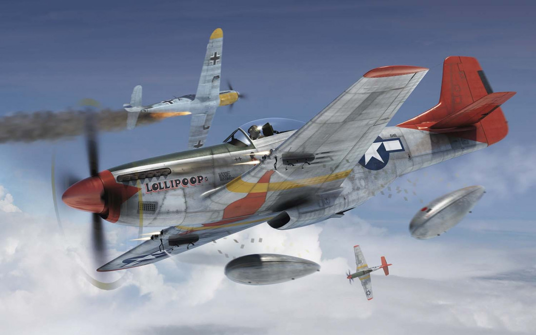 1:72 North American P-51D Mustang
