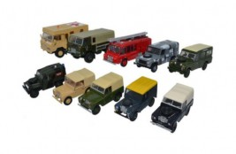 1:76 Land Rover Military Set (10 ks)