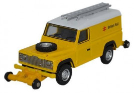 1:76 Road Rail Defender, British Rail