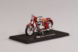1:18 Jawa 250 Pérák (1948) – Dark Cherry Red