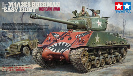1:35 U.S. Medium Tank M4A3E8 Sherman