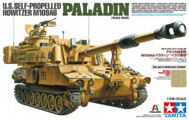 1:35 U.S. Self-Propelled Howitzer M109A6 Paladin (Iraq War)