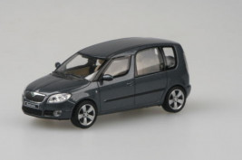 1:43 Škoda Roomster – Anthracite Gray Metallic